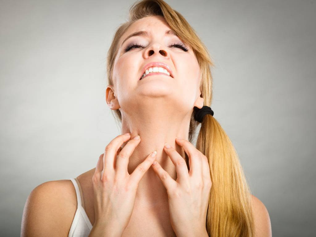 allergie peau