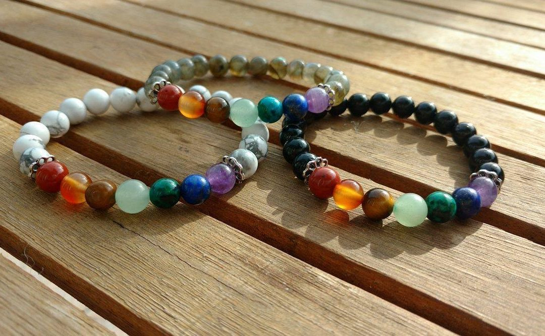 Tout savoir sur le bracelet 7 chakras en pierres naturelles.