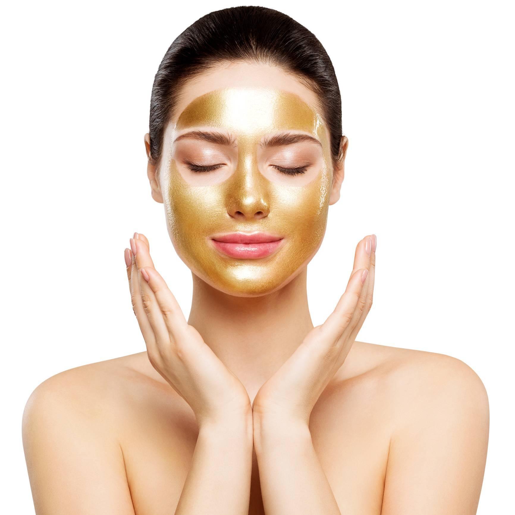 masque de beauté en or cosmétique